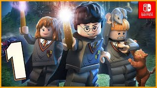 Lego Harry Potter Collection HD Walkthrough Part 1 You're a Wizard Harry (Nintendo Switch)