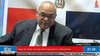 TEMO NO PUEDE MENCIONAR LA PALABRA CORRUPCIÓN