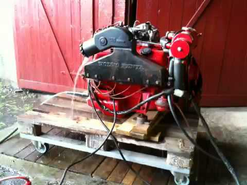Volvo Penta Aq130 And Sterndrive Penta 270 Youtube - Imagez co