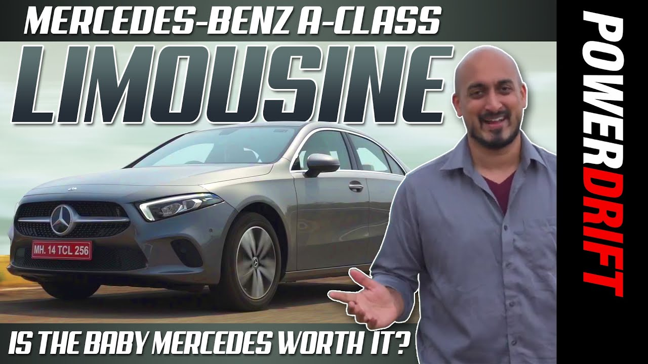 2021 मर्सिडीज ए क्लास लिमोज़िन | पहला drive रिव्यू | powerdrift