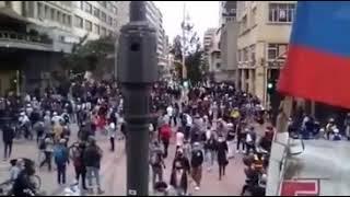 Policia Nacional de Colombia asesinos del pueblo.