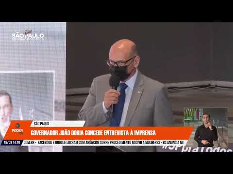 Ao vivo: governo de São Paulo atualiza informações sobre a pandemia