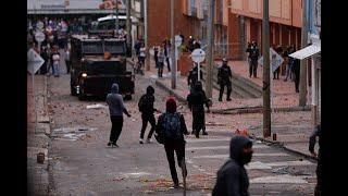 Cinco heridos y cinco detenidos dejaron disturbios en la Universidad Distrital