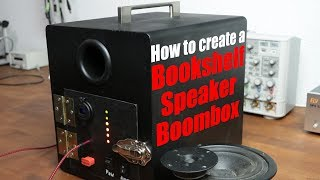 How to create a Bookshelf Speaker Boombox