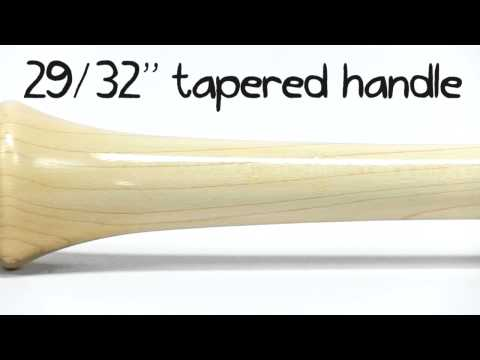 Sam Bat Maple Wood Bat: RB8 Black/Natural Adult