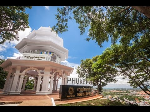 WALKING FROM PHUKET TOWN TO KHAO RANG HILL VIEW POINT (3,1 KM)