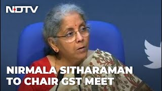 GST Council Meet: Tax Cut On COVID Essentials, Black Fungus Medicine On Agenda - NDTV