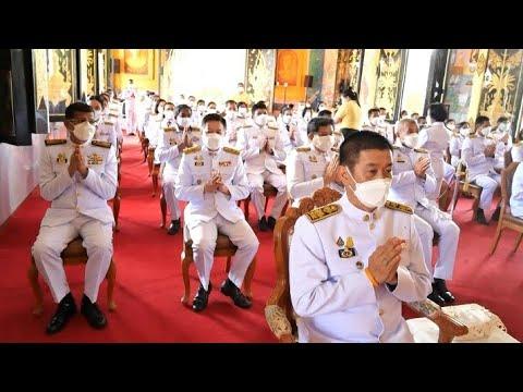 พิธีเจริญพระพุทธมนต์สมโภชพระพุ