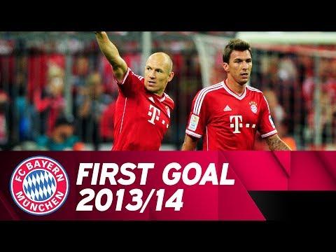 Robbens Heber eröffnet die Saison 2013/14 gegen Borussia Mönchengladbach! ⚽