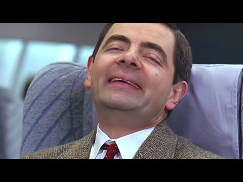 connectYoutube - Flying with Bean | Funny Clips | Classic Mr. Bean