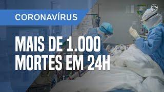 COM UM ÓBITO A CADA 73 SEGUNDOS, COVID-19 SE TORNA A PRINCIPAL CAUSA DE MORTES NO BRASIL