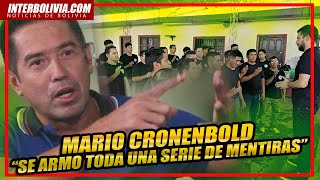 ???? MARIO CRONENBOLD RELATA los momentos MÁS DIFICILES durante el GOLPE de ESTADO a BOLIVIA ????