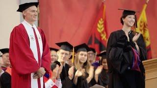 Stanford celebrates Marc Tessier-Lavigne's presidential inauguration