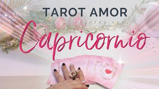 CAPRICONRIO! MADRE MIA!! ES TAN FUERTE TU LECTURA????????Predicción Amor Febrero 2021 HOROSCOPOS Y TAROT