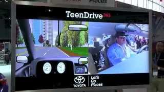 Toyota virtual simulation shows teens distracted driving dangers