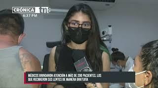 MINSA desarrolla exitosamente jornadas de salud visual en Managua - Nicaragua