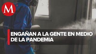 Ante pandemia de covid-19 crecen las empresas de sanitización ¨patito¨