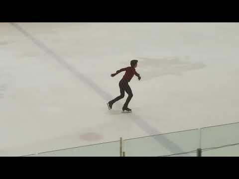Vincent Zhou - 2018 U.S. Nationals, Men's Free Skate Practice