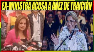 Ministra Roxana Lizarraga Renuncia y Llama Traidora a Jeanine Áñez Por Postularse a Elecciones 2020