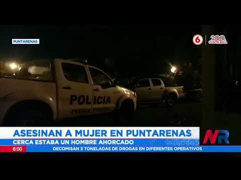 Asesinan a mujer en Puntarenas