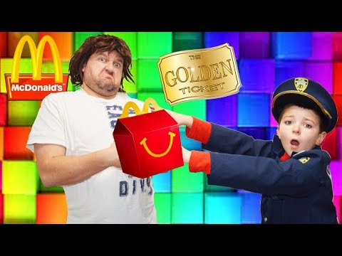 Who Stole My Lunch Part 4! The Missing Golden Ticket Hilarious Kids Video