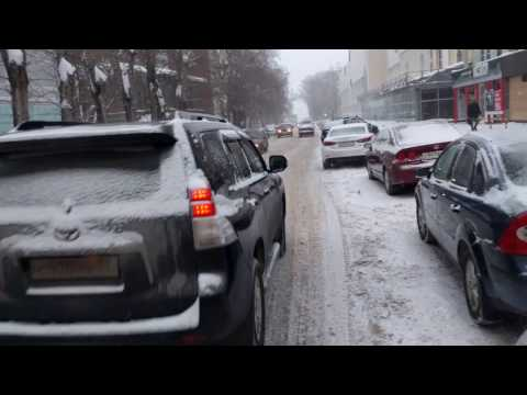 Снежная дорожная диета на ул.Усова