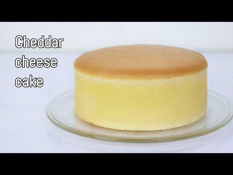 Cheddar-cheese-cake--เชดด้าชีส