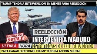 Estratega sen?ala Trump va a detener a Maduro para ganar las elecciones
