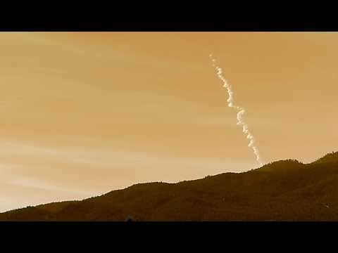 Today's Delta IV Rocket Launch Seen Over Southern California