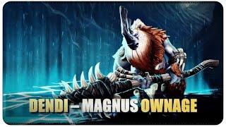 DOTA 2 - Dendi - Magnus Ownage @50FPS