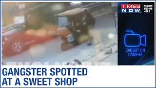 Kanpur Encounter: CCTV footage of Vikas Dubey captured leaving a sweet shop in Faridabad - TIMESNOWONLINE