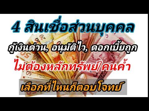 4-สินเชื่อส่วนบุคคล-กู้เงินด