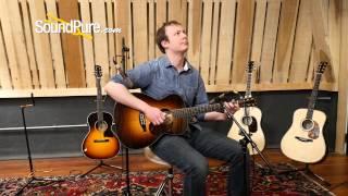 Bourgeois Custom Sunburst OO Country Boy Acoustic Guitar