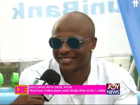 VIDEO: Andre Ayew endorses Ghana's Dancehall King Shatta Wale as all-time favourite artiste