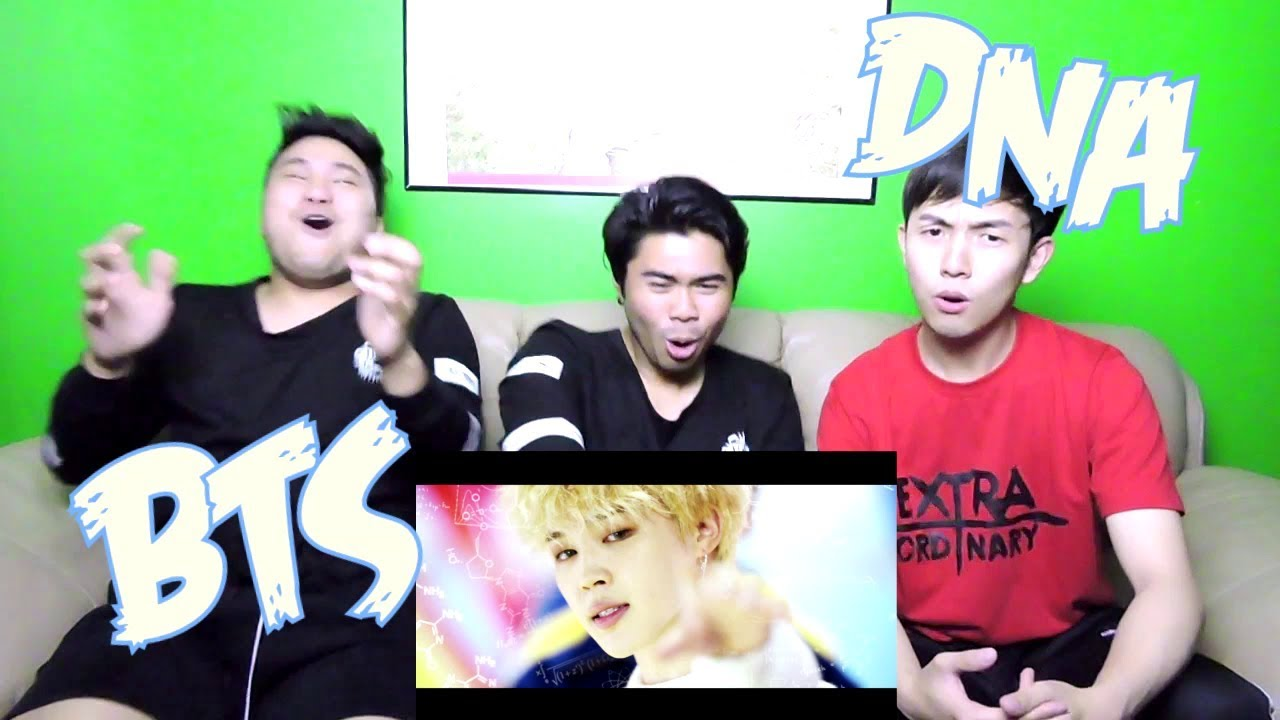 BTS (방탄소년단) 'DNA' OFFICIAL MV REACTION