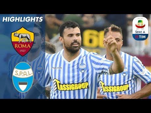 أهداف مباراة روما وسبال 0-2 - البطولة الايطالية -