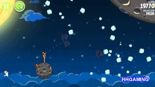 Angry Birds Space - Walkthrough 1-15 3 stars Pig Bang level guide how to get three star levels