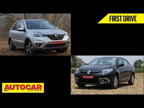 2014 Renault Fluence & Koleos Driven