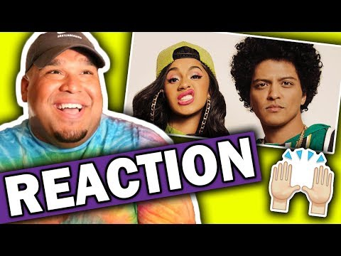 connectYoutube - Bruno Mars ft. Cardi B - Finesse (Remix) Music Video [REACTION]