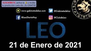 Horóscopo Diario - Leo - 21 de Enero de 2021.
