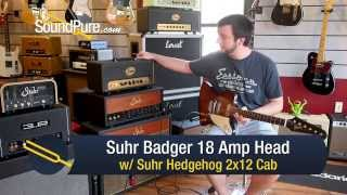 Suhr Badger 18 Amp Head w/ Suhr Hedgehog 2x12 Amp - Quick n' Dirty