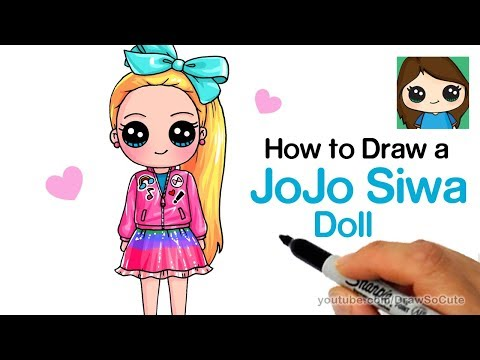 how to draw cute school girl easy