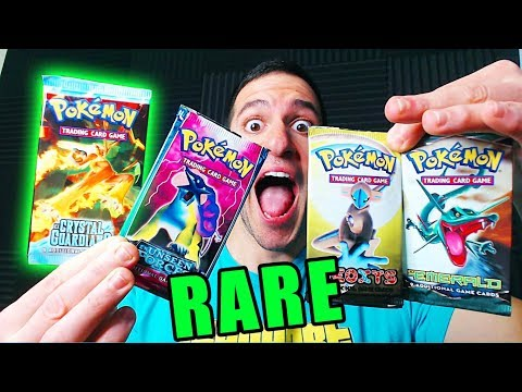 connectYoutube - OPENING OLD POKEMON CARDS PACKS! (VERY RARE)