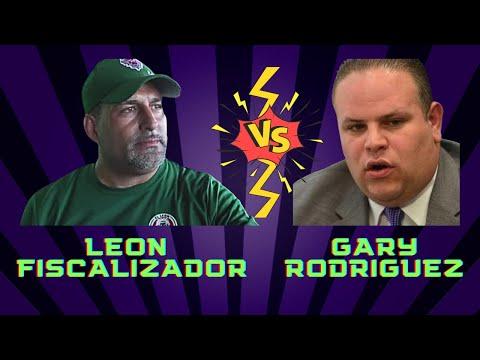 El leon fiscalizador vs Gary Rodriguez Que Bochinche