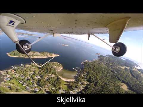 Vestfold rundt med småfly