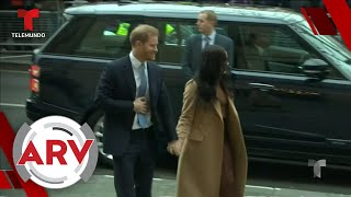 El príncipe Harry reaparece en público luego de su salida de la realeza   Al Rojo Vivo   Telemundo