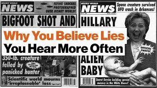 Why You Believe Lies You Hear More Often | Derek Thompson