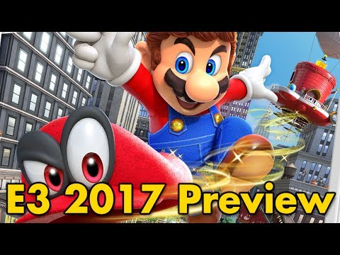 connectYoutube - Super Mario Odyssey E3 2017 Preview (Direct Feed)