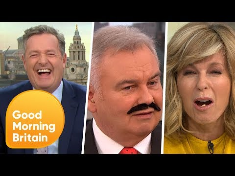 GMB Funniest Moments with Big Narstie, Absurd Piers, Sour Kate And More | Good Morning Britain