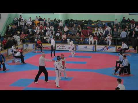 Чернозубов Сергей 2 бой 1 раунд
